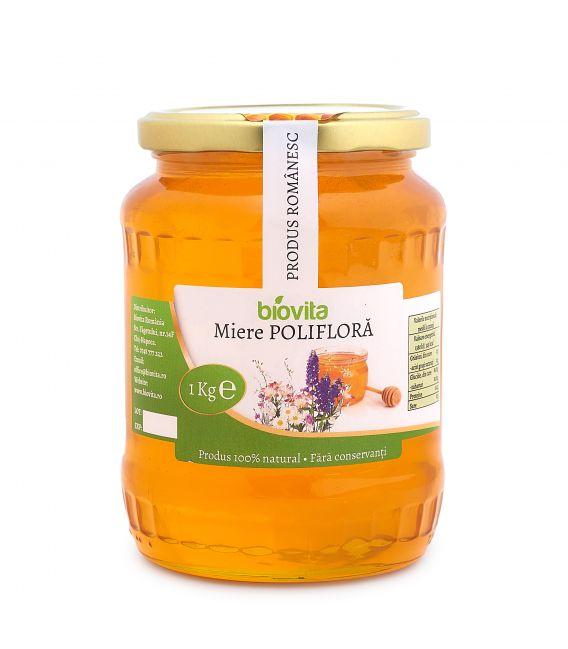 Miere de albine polifloră