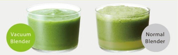 Blender cu vid vs. Blender normal